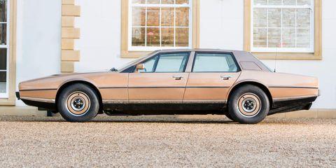 Land vehicle, Vehicle, Car, Full-size car, Sedan, Luxury vehicle, Aston martin lagonda, Classic car, Coupé, Personal luxury car,