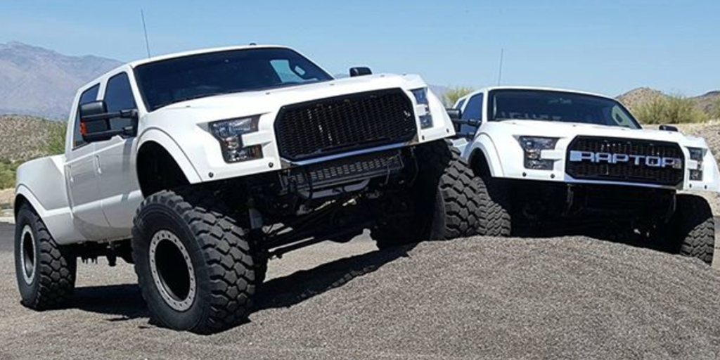 """This Custom-Built F-250 """"MegaRaptor"""" Is the Ultimate Ford ..."""