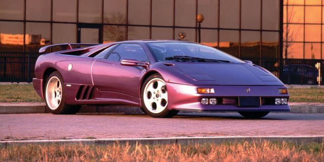 Remember How Pitifully Ugly The Lamborghini Diablo S Airbags Were
