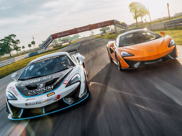Sheep In Wolf's Clothing: McLaren 570S GT4 on