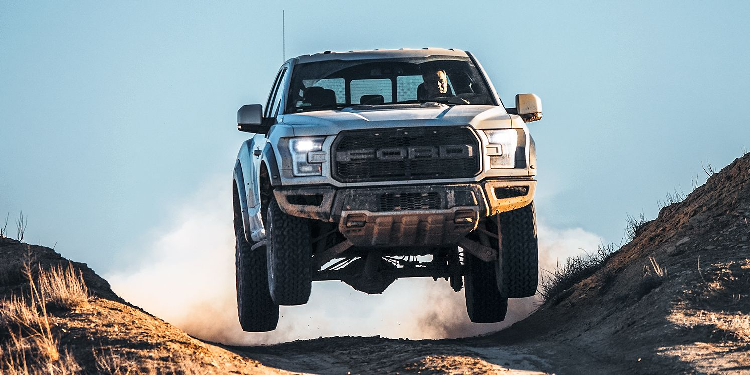 The Ford F-150 Raptor Might Get the Mustang GT500's Supercharged V-8