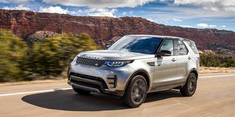 Land vehicle, Vehicle, Car, Motor vehicle, Automotive tire, Sport utility vehicle, Land rover discovery, Land rover, Automotive design, Range rover,