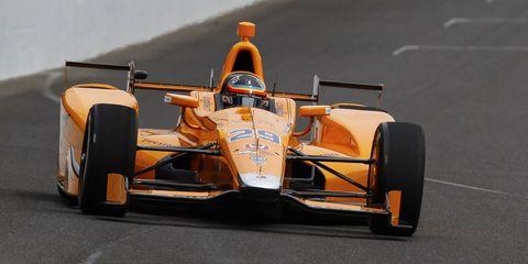 Fernando Alonso Indy 500 car