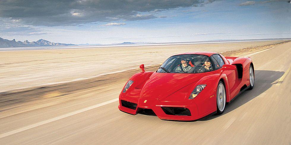 First Drive Enzo Ferrari