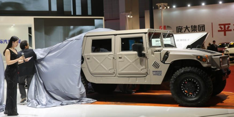detroit is building new hummer h1s again