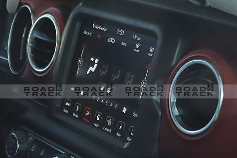 What The 2018 Jeep Wrangler Interior Spy Photos Reveal About The New