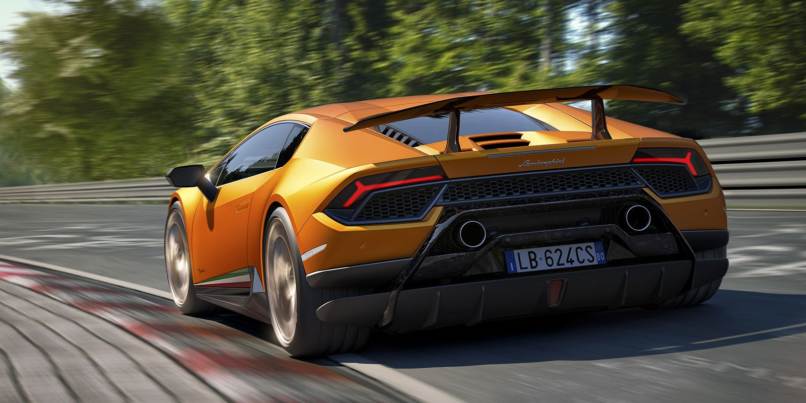 How The Lamborghini Huracan Performante Shaped The Air To Dominate
