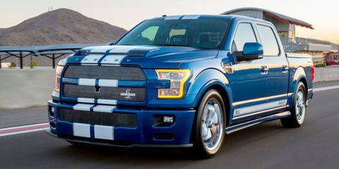 the 750 hp shelby f 150 super snake is a $100,000 thundertruck