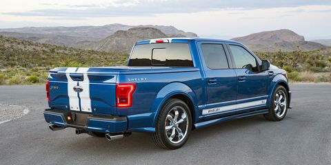 Ford Truck Shelby >> The 750 Hp Shelby F 150 Super Snake Is A 100 000 Thundertruck