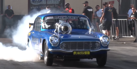 Watch This 1200-HP Honda S600 Drag Monster Run Sevens in the Quarter