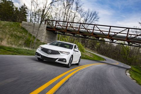 2018 Acura Tlx First Drive