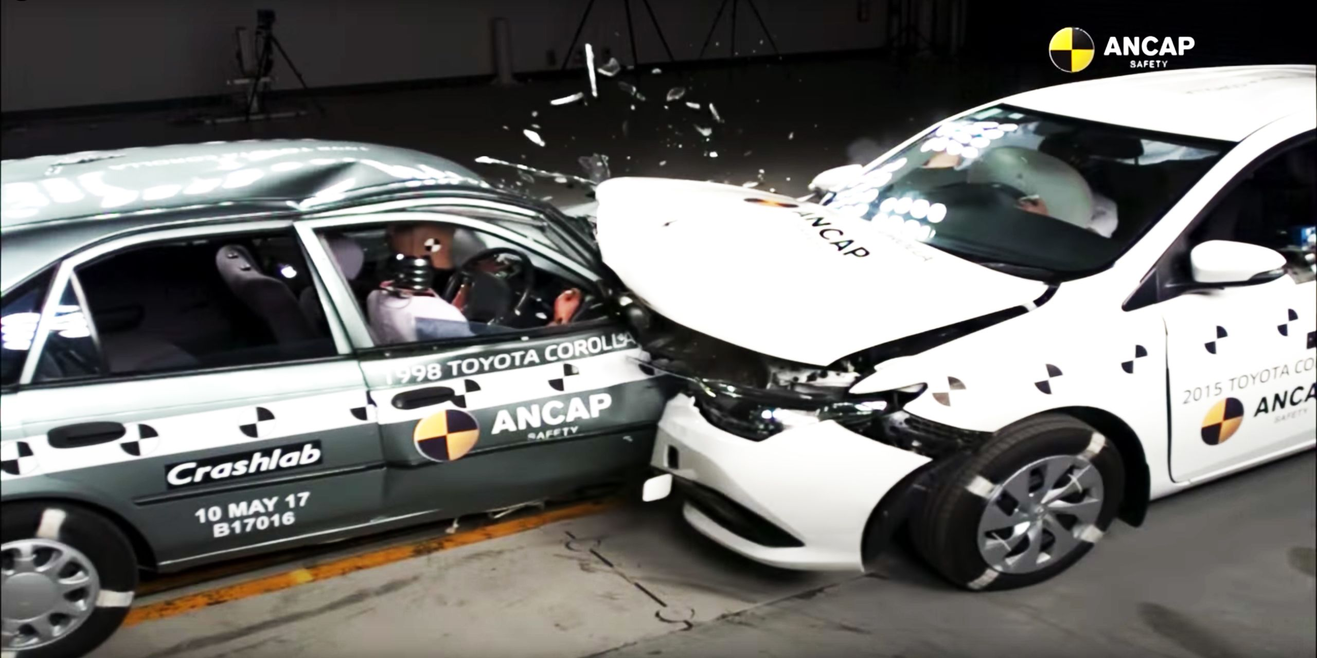 Car Crash Safety - New vs Old, Which Car is Safer?