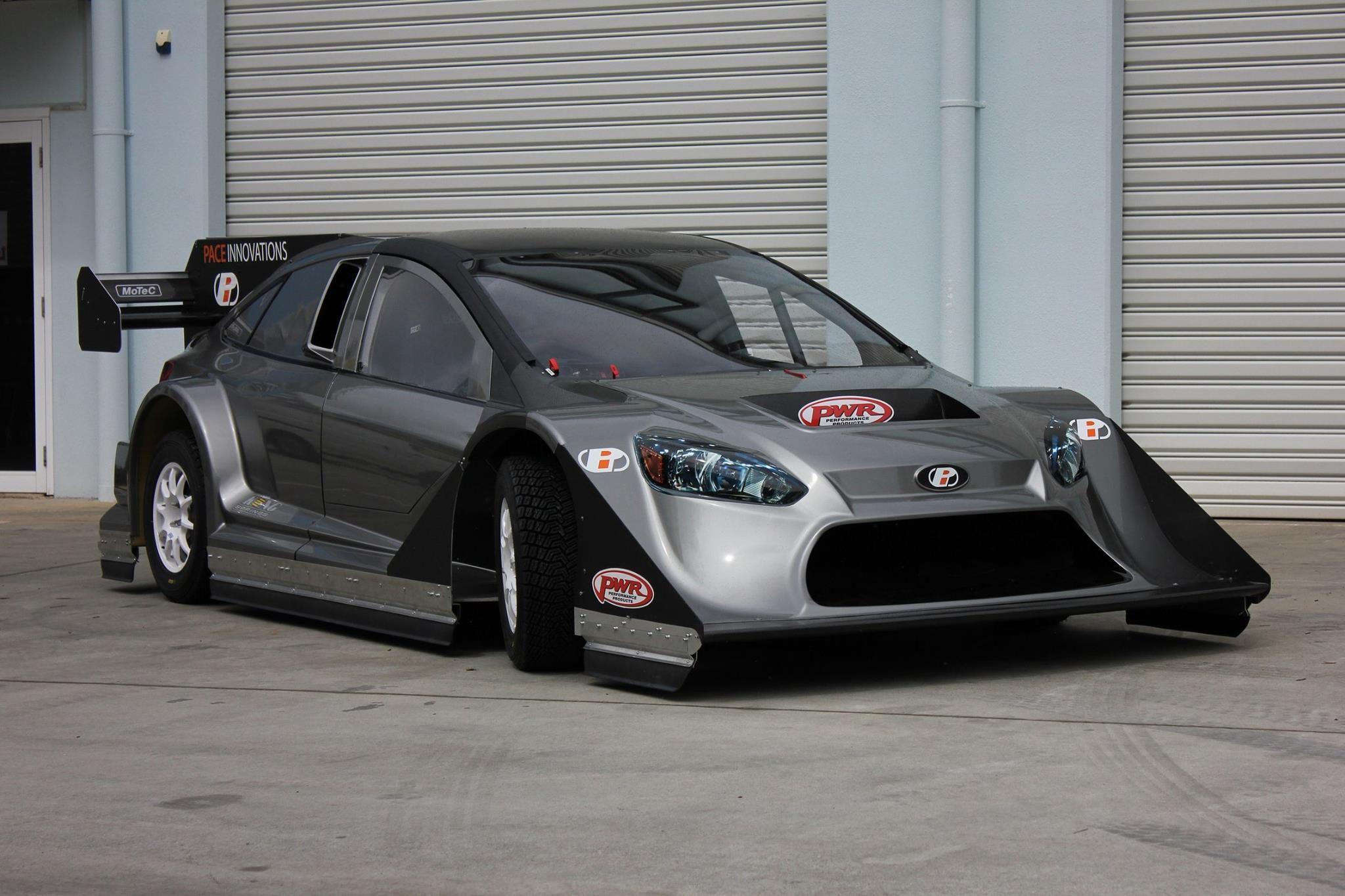 This Nissan Gt R Powered Ford Focus Hillclimb Car Is A 4wd Speed Machine 2014 Frame