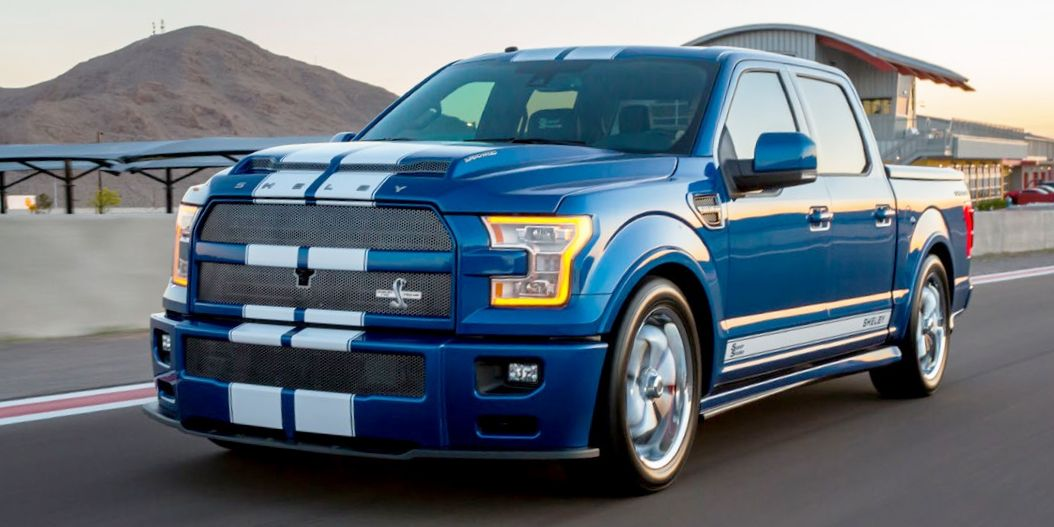 shelby brings back f 150 super snake for 2017 ford cobra truck. Black Bedroom Furniture Sets. Home Design Ideas