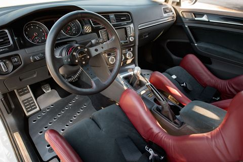 <p>We doubt VW will start offering those seats and that steering wheel as factory options.</p>