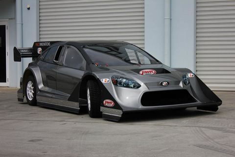 This Nissan Gt R Powered Ford Focus Hillclimb Car Is A 4wd Speed Machine