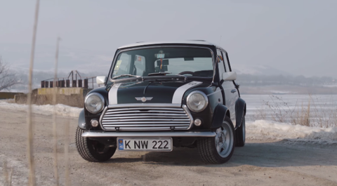 This Classic Mini Cooper Is The Perfect European Road Trip Companian