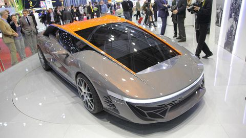 Automotive design, Vehicle, Land vehicle, Event, Car, Personal luxury car, Supercar, Sports car, Lamborghini, Auto show,