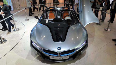 Mode of transport, Automotive design, Floor, Car, Automotive exterior, Grille, Personal luxury car, Concept car, Auto show, Logo,