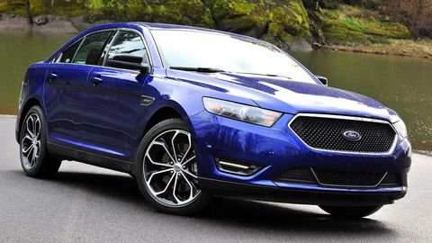 Photos 2013 Ford Taurus Sho With Performance Package