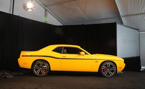 2012 Dodge Challenger Srt8 Yellow Jacket 2011 Los Angeles Auto Show