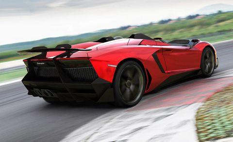 Tire, Wheel, Mode of transport, Automotive design, Vehicle, Automotive exterior, Supercar, Hood, Car, Red,
