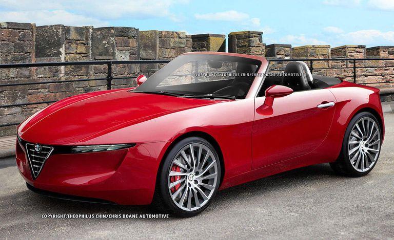 Photos 2014 Mazda Mx 5 Miata And Alfa Romeo Spyder