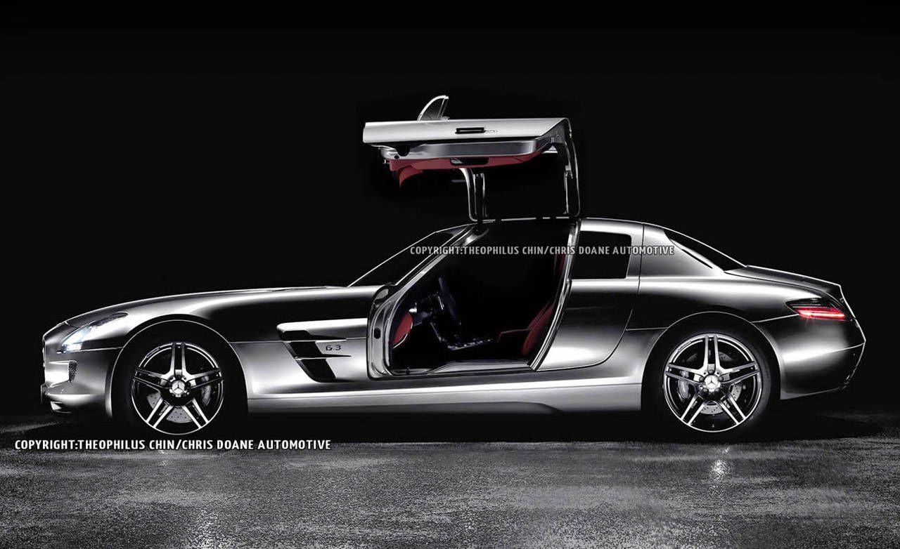 & Photos: 2014 Mercedes-Benz SLS AMG 4-door