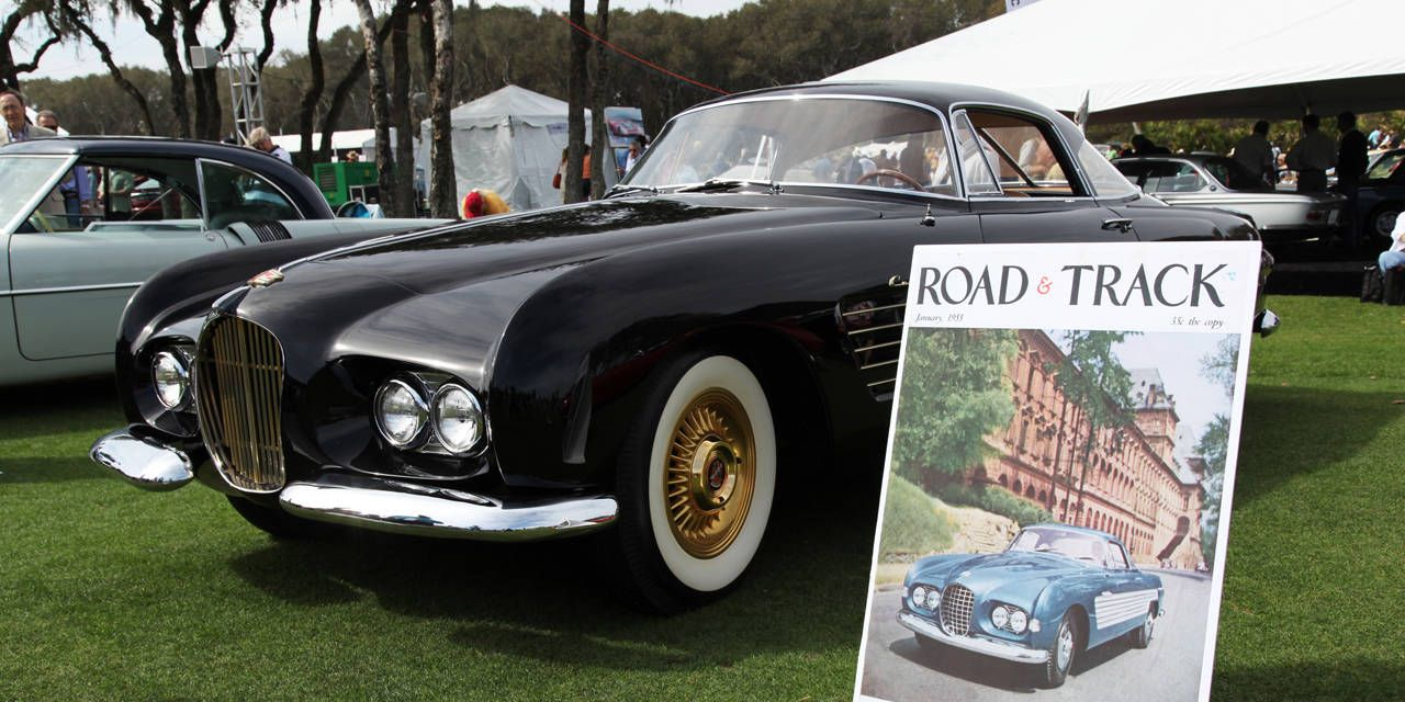 Photos: 1953 Cadillac Series 62 Ghia Coupe