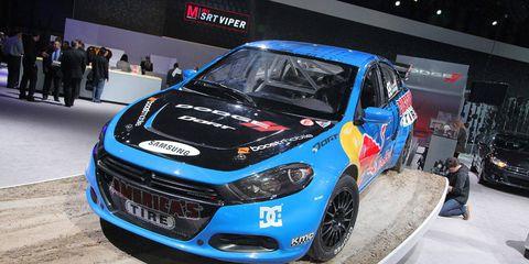 Photos: 2013 Dodge Dart Rally Car