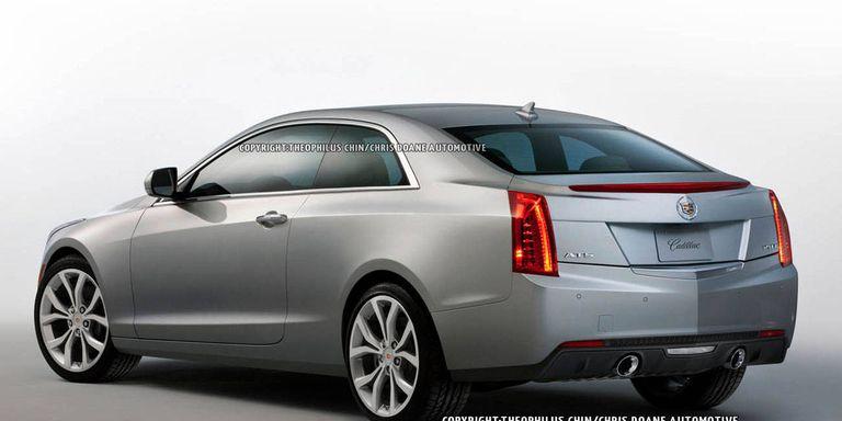 Photos: 2014 Cadillac ATS Coupe