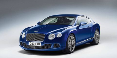 Photos 2013 Bentley Continental Gt Speed