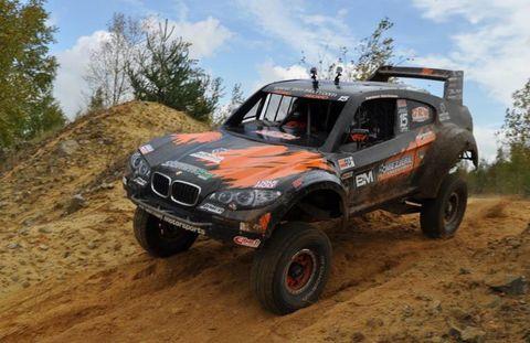 Bmw Trophy Truck Tackles Baja