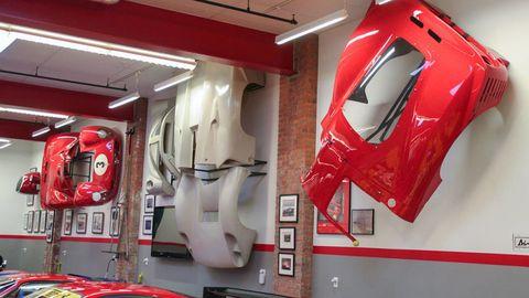 Automotive design, Red, Ceiling, Carmine, Machine, Supercar, Luxury vehicle, Coquelicot, Sports car, City car,