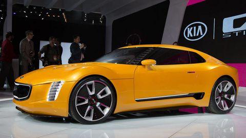 Tire, Wheel, Automotive design, Vehicle, Yellow, Land vehicle, Car, Performance car, Concept car, Rim,