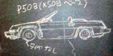 Motor vehicle, Automotive design, Transport, Text, Font, Drawing, Handwriting, Machine, Artwork, Kit car,