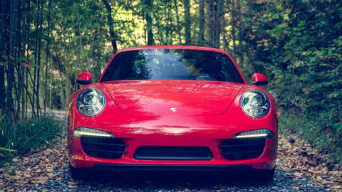 Automotive design, Vehicle, Red, Car, Automotive lighting, Performance car, Sports car, Bumper, Headlamp, Luxury vehicle,