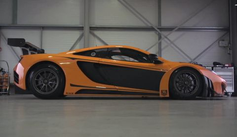 Chris Harris takes the McLaren 12C GT3 for an on-track spin