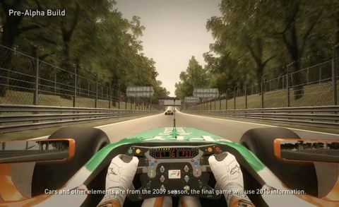 Mode of transport, Steering wheel, Windshield, Racing video game, Lane, Games, Steering part, Sports car, Race car, Speedometer,