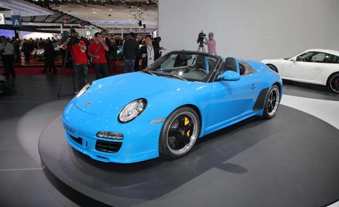Photos 2011 Porsche Speedster