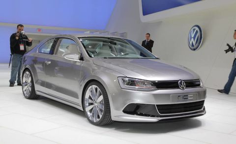 It S Strange To See Vw Unveil A Hybrid Train In The New Compact Coupe We Re So Used Hearing Sel
