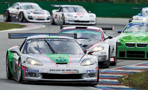 American Cars Rule in European GT Racing