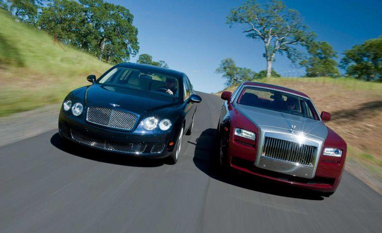 Rolls-Royce Ghost Vs. Bentley Continental Flying Spur Speed
