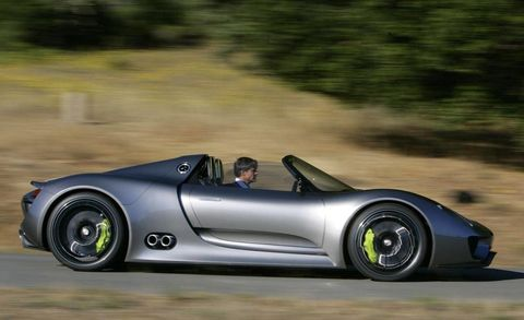 The Porsche 918 Spyder In Action For The First Time See The Photos