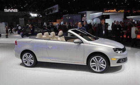 VW Eos Unveiled At Theos Angeles Auto Show - Eos car show