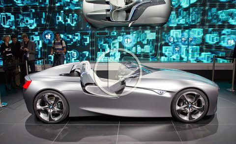 BMW Vision ConnectedDrive Concept Video Reveal at 2011 Geneva Auto Show