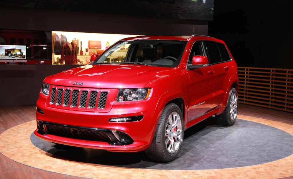Charming The Big And Bold 2012 Jeep Grand Cherokee SRT8 Made Its Debut Today At The  New York Auto Show. To Be Honest, This Tire Melting And Hemi Powered SUV  Seemed A ...