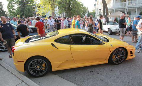 Wheel, Tire, Mode of transport, Automotive design, Vehicle, Yellow, Land vehicle, Performance car, Rim, Car,
