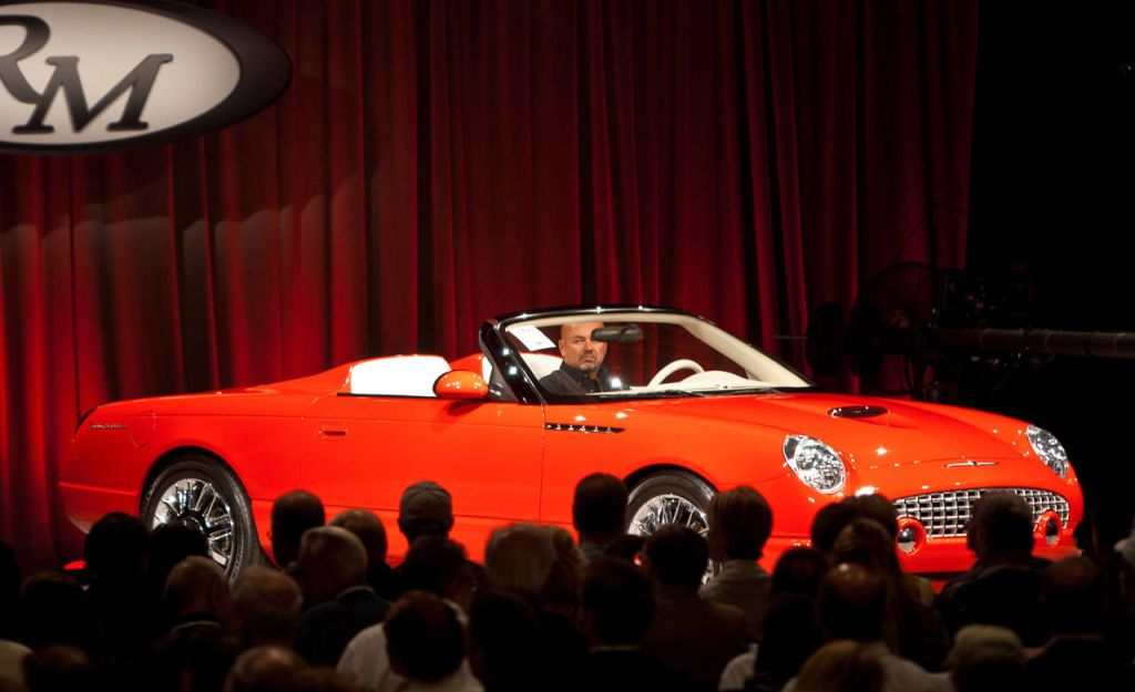 This Evening During The Prestigious Monterey Auction Held In Conjunction  With The Pebble Beach Concours Du0027Elegance, A 2001 Ford Thunderbird Sports  Roadster ...