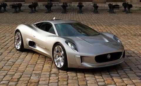 Jaguar C-X75 Hybrid Supercar - Jaguar to Build C-X75 Hybrid
